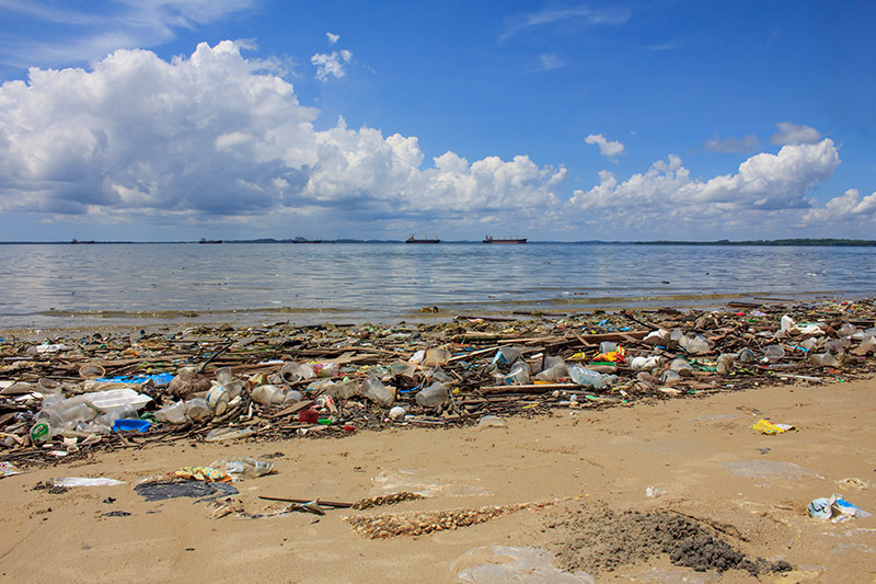 Océanos de plásticos