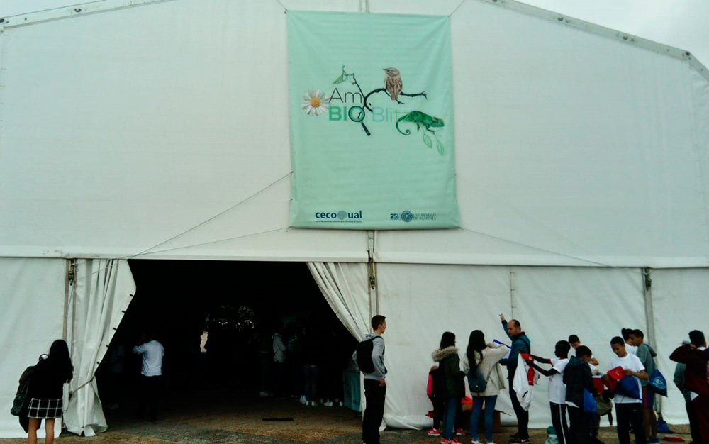 Aquarium Costa de Almería participa en AmBioBlitz